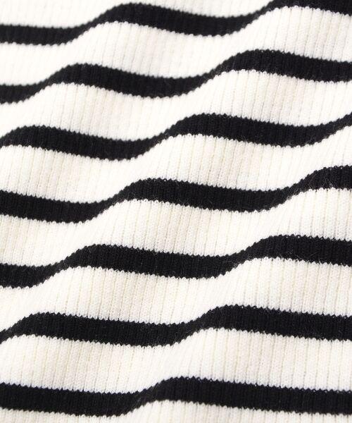 le.coeur blanc / ルクールブラン ニット・セーター | スカラップリブニット | 詳細4