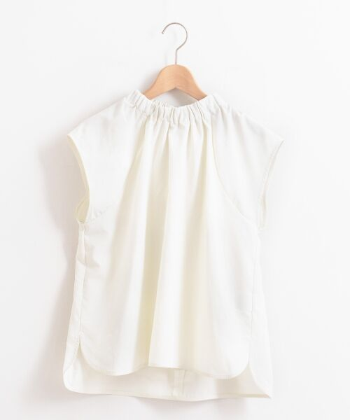 le.coeur blanc / ルクールブラン シャツ・ブラウス | バックリボンスタンドネックブラウス | 詳細16