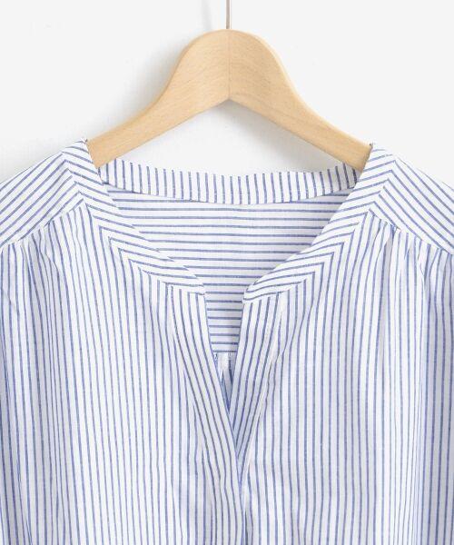 le.coeur blanc / ルクールブラン シャツ・ブラウス | リネンノーカラーシャツ | 詳細2