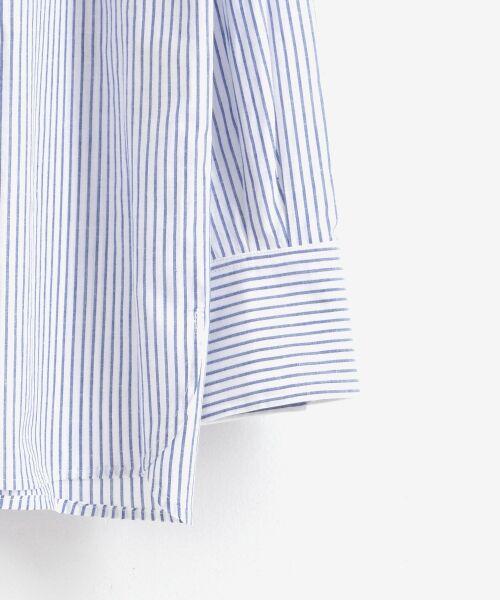 le.coeur blanc / ルクールブラン シャツ・ブラウス | リネンノーカラーシャツ | 詳細3