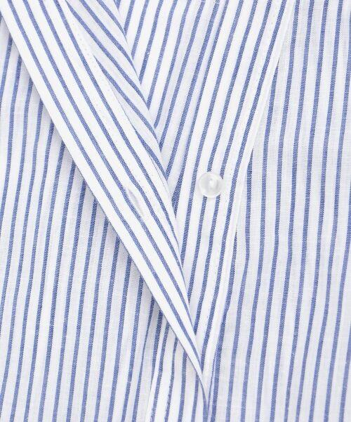 le.coeur blanc / ルクールブラン シャツ・ブラウス | リネンノーカラーシャツ | 詳細4