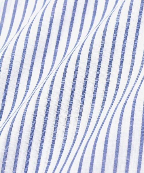 le.coeur blanc / ルクールブラン シャツ・ブラウス | リネンノーカラーシャツ | 詳細5