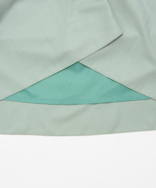 le.coeur blanc / ルクールブラン ミニ・ひざ丈スカート | マイクロスパンタックフレアスカート | 詳細5