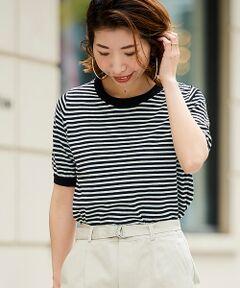 【洗える、夏に嬉しいニット】<br>マストアイテムのベーシッククルーネックプルオーバー。<br>夏にぴったりのコットンリネンのさらっとした素材感で、夏も心地よく快適に着用いただけるアイテム。<br>Tシャツ感覚で着ていただけるプルオーバーは様々なシーンで活躍間違いなし。<br><br>ベーシックなデザインながらも程よいサイズ感で、<br>上品な大人の女性らしさを演出してくれます。<br><br>シンプルでベーシックなサイズ感は様々なボトムとの相性◎。<br>手洗い可 ドライクリーニング可 陰干し<br>*この製品は麻素材を使用しております。<br>*素材の特性上、織りムラ・糸ムラ・節・ネップがありますのでご了承下さい。<br>*水濡れによる色落ちにご注意下さい。<br>*素材の特性上、毛羽立ちが生じますのでご注意下さい。