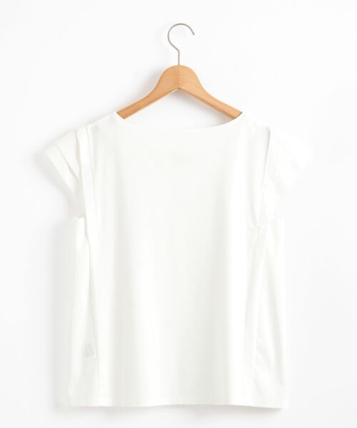 le.coeur blanc / ルクールブラン カットソー | メタルパーツフレンチカットソー | 詳細1