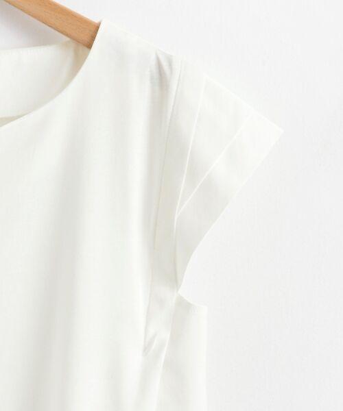 le.coeur blanc / ルクールブラン カットソー | メタルパーツフレンチカットソー | 詳細3