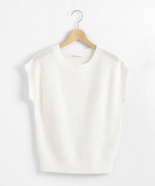 le.coeur blanc / ルクールブラン ニット・セーター | サーマルクルーネックニット | 詳細11