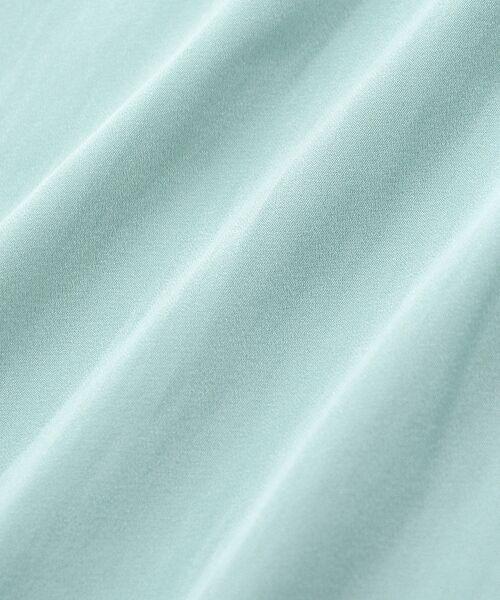 le.coeur blanc / ルクールブラン シャツ・ブラウス | サテンギャザーVネックブラウス | 詳細4