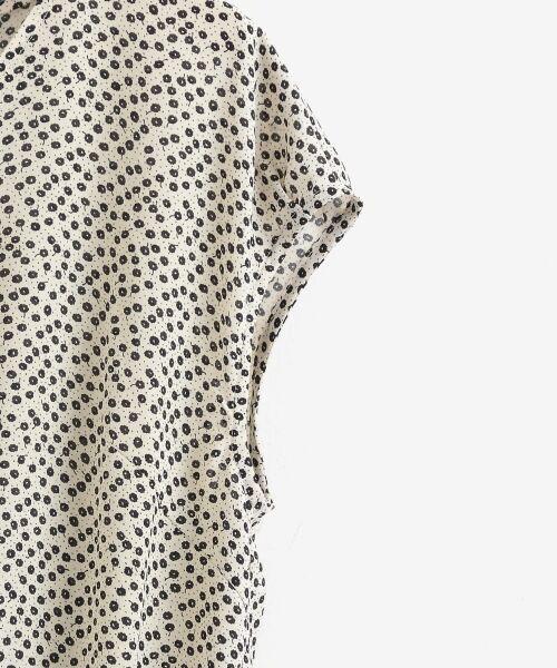 le.coeur blanc / ルクールブラン シャツ・ブラウス | 小花柄2wayフレンチブラウス | 詳細3