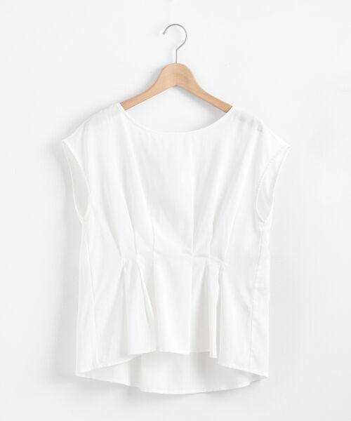 le.coeur blanc / ルクールブラン シャツ・ブラウス | ウエストタックブラウス | 詳細15