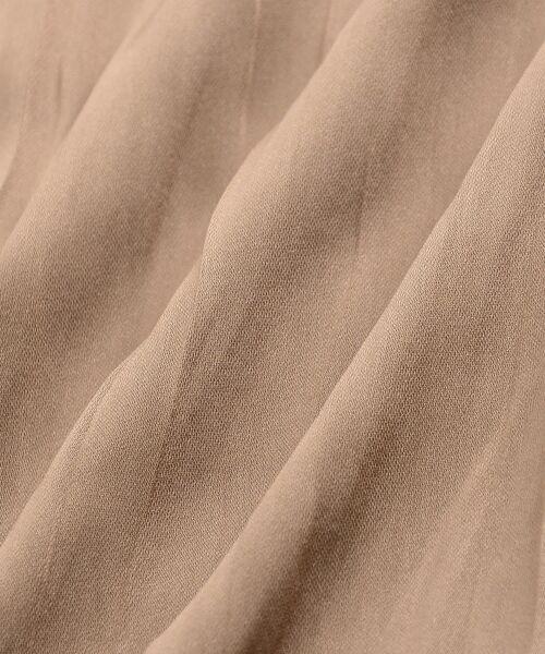 le.coeur blanc / ルクールブラン ロング・マキシ丈スカート | サテンプリーツロングスカート | 詳細5