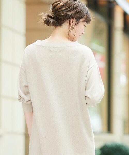 le.coeur blanc / ルクールブラン ロング・マキシ丈ワンピース | AQUA ウールカシミヤロングワンピース | 詳細6