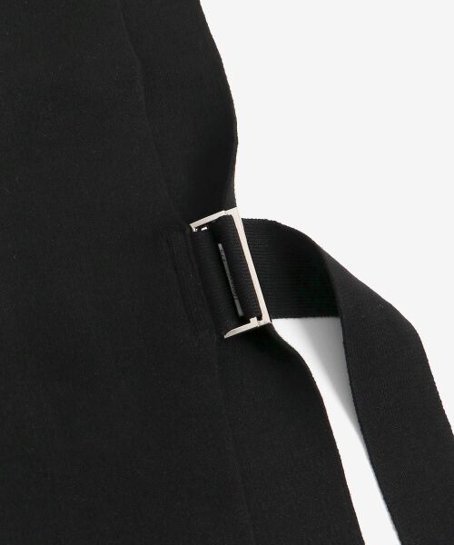 le.coeur blanc / ルクールブラン ニット・セーター | dunadixサイドベルトニットベスト | 詳細4