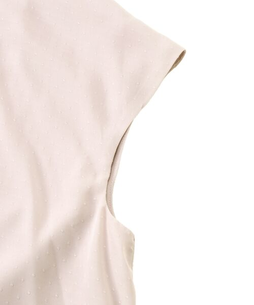 le.coeur blanc / ルクールブラン シャツ・ブラウス | ドットフロントフレアフレンチブラウス | 詳細3