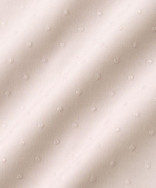 le.coeur blanc / ルクールブラン シャツ・ブラウス | ドットフロントフレアフレンチブラウス | 詳細4