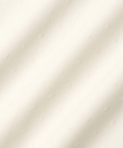 le.coeur blanc / ルクールブラン シャツ・ブラウス | ドットフロントフレアフレンチブラウス | 詳細5