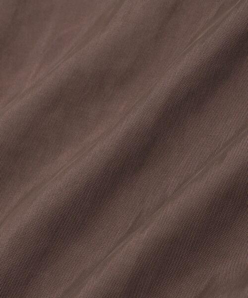 le.coeur blanc / ルクールブラン ロング・マキシ丈スカート | チュールプリーツ×サテンギャザーリバースカート | 詳細6