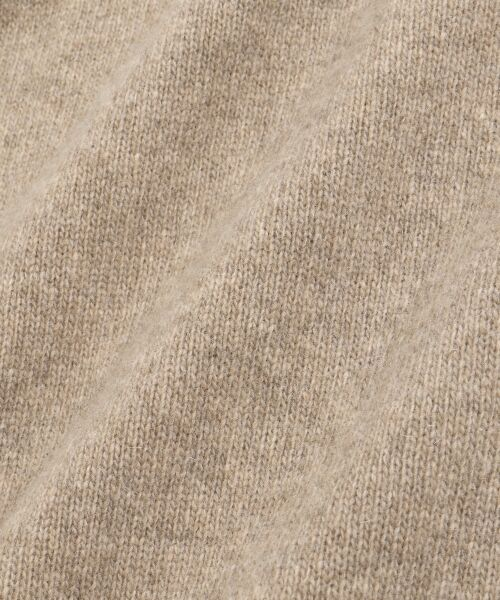 le.coeur blanc / ルクールブラン ミニ丈・ひざ丈ワンピース | ラムタートルワンピース | 詳細5