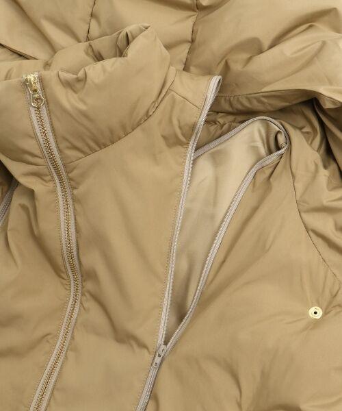 le.coeur blanc / ルクールブラン ダウンジャケット・ベスト | 2wayフードミドルコート | 詳細6
