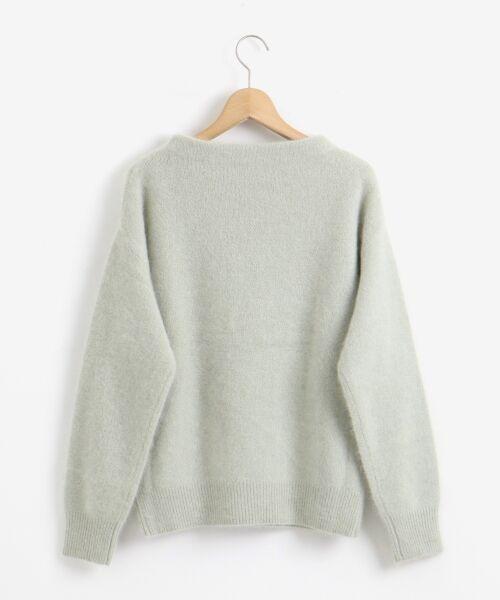 le.coeur blanc / ルクールブラン ニット・セーター | チャイニーズラクーンボトルネックニット | 詳細1