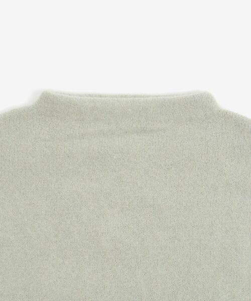 le.coeur blanc / ルクールブラン ニット・セーター | チャイニーズラクーンボトルネックニット | 詳細2