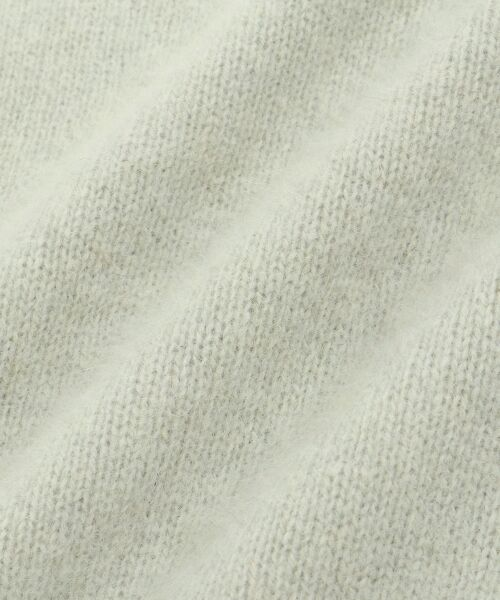 le.coeur blanc / ルクールブラン ニット・セーター | チャイニーズラクーンボトルネックニット | 詳細4