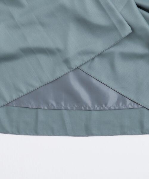 le.coeur blanc / ルクールブラン ミニ・ひざ丈スカート | マイクロスパンタックギャザースカート | 詳細5
