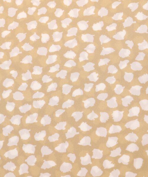 le.coeur blanc / ルクールブラン シャツ・ブラウス   レオパードプリントタイブラウス   詳細6