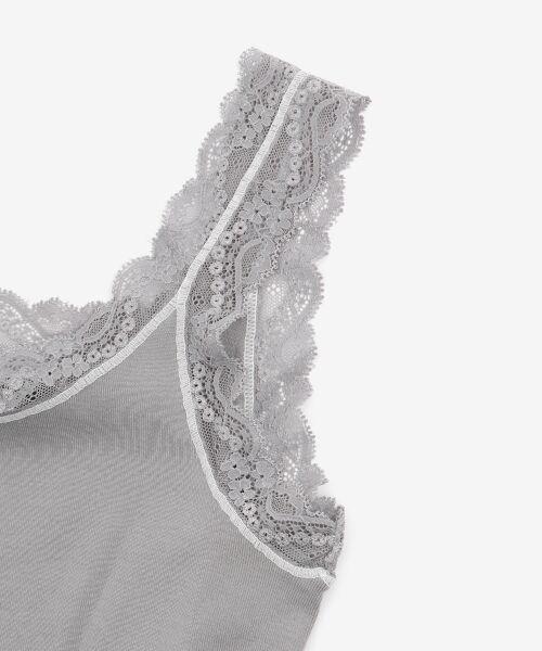 le.coeur blanc / ルクールブラン タンクトップ | HENRI レースタンク | 詳細3