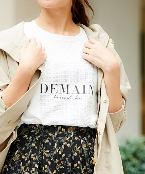 le.coeur blanc / ルクールブラン Tシャツ | DEMAIN Tシャツ | 詳細11