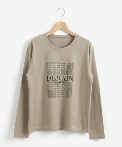 le.coeur blanc / ルクールブラン Tシャツ | DEMAIN Tシャツ | 詳細17