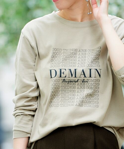 le.coeur blanc / ルクールブラン Tシャツ | DEMAIN Tシャツ | 詳細6