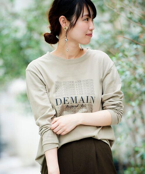 le.coeur blanc / ルクールブラン Tシャツ | DEMAIN Tシャツ | 詳細7