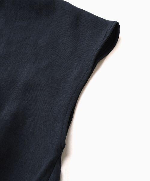 le.coeur blanc / ルクールブラン シャツ・ブラウス | タックブラウス×キャザーワイドパンツセットアップ | 詳細4