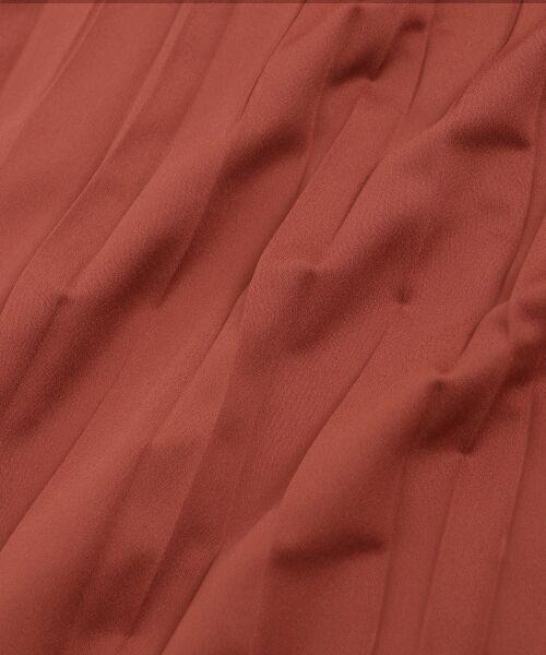 le.coeur blanc / ルクールブラン ロング・マキシ丈スカート | サテンアコーディオンプリーツスカート | 詳細5