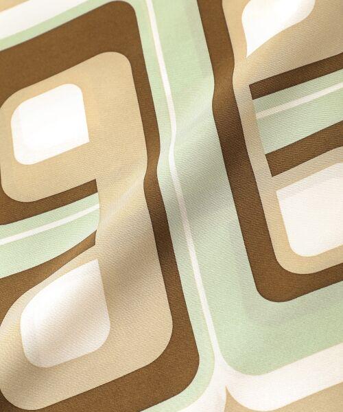 le.coeur blanc / ルクールブラン バンダナ・スカーフ | レトロプリントスカーフ | 詳細3