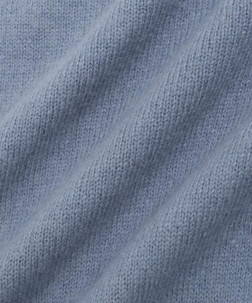 le.coeur blanc / ルクールブラン ニット・セーター | フェレットタッチ ハイネックバックシャンニット | 詳細24