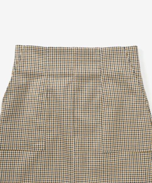 le.coeur blanc / ルクールブラン ミニ・ひざ丈スカート | ハイウエストポケットタイトスカート | 詳細2