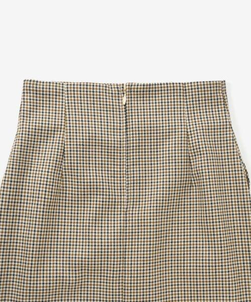 le.coeur blanc / ルクールブラン ミニ・ひざ丈スカート | ハイウエストポケットタイトスカート | 詳細3