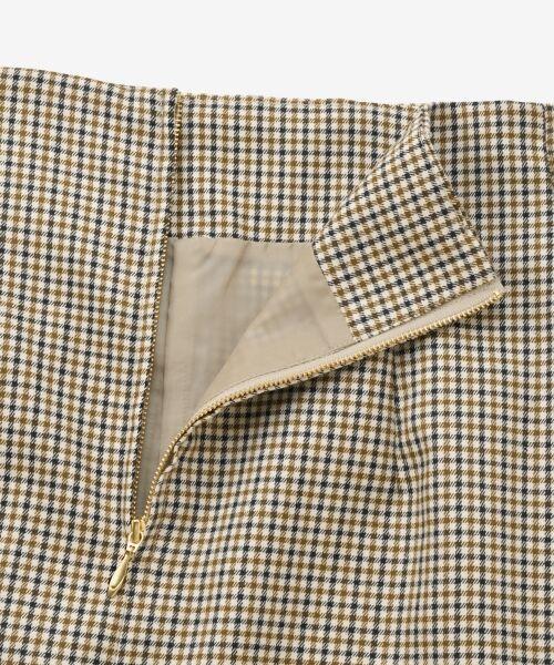 le.coeur blanc / ルクールブラン ミニ・ひざ丈スカート | ハイウエストポケットタイトスカート | 詳細4