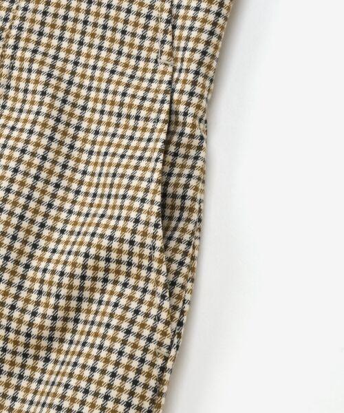 le.coeur blanc / ルクールブラン ミニ・ひざ丈スカート | ハイウエストポケットタイトスカート | 詳細5