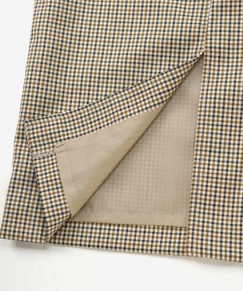 le.coeur blanc / ルクールブラン ミニ・ひざ丈スカート | ハイウエストポケットタイトスカート | 詳細6