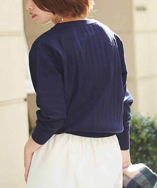 le.coeur blanc / ルクールブラン ニット・セーター | プリーツアミドルマンスリーブニット | 詳細23