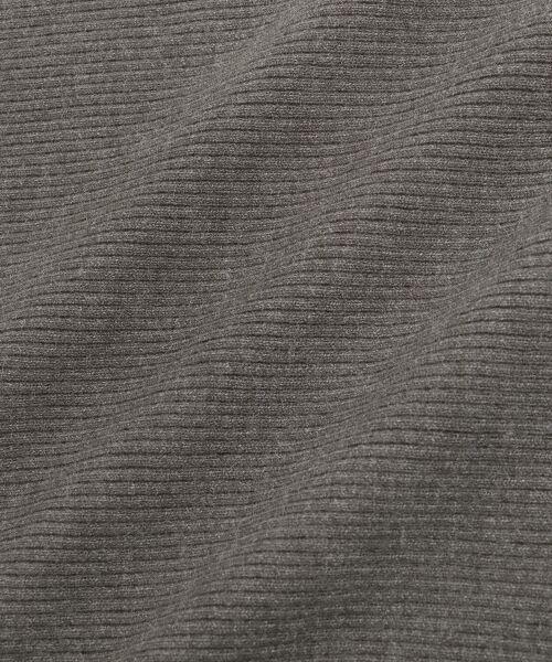 le.coeur blanc / ルクールブラン ニット・セーター | 横リブボートネックプルオーバー | 詳細4