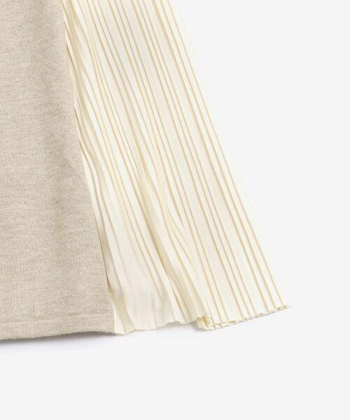 le.coeur blanc / ルクールブラン ロング・マキシ丈ワンピース | サイドプリーツニットワンピース | 詳細19