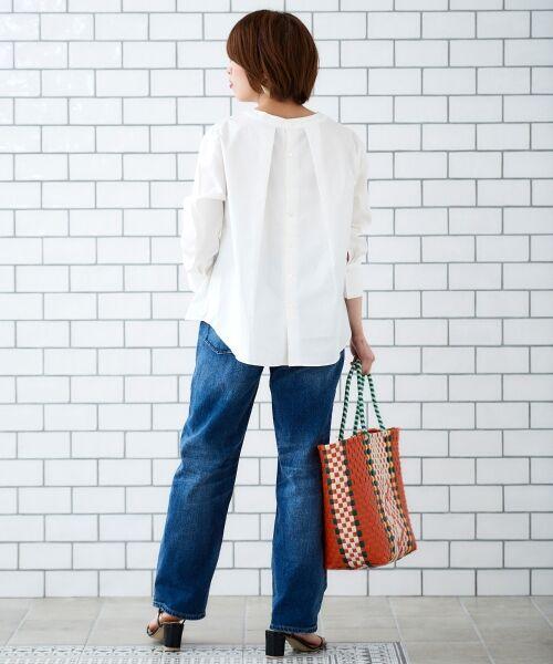 le.coeur blanc / ルクールブラン シャツ・ブラウス | タイプライターバックボタンシャツ | 詳細17