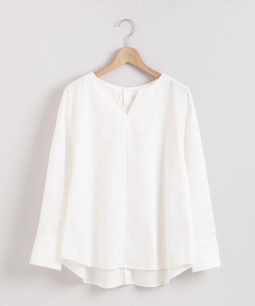 le.coeur blanc / ルクールブラン シャツ・ブラウス | タイプライターバックボタンシャツ | 詳細18