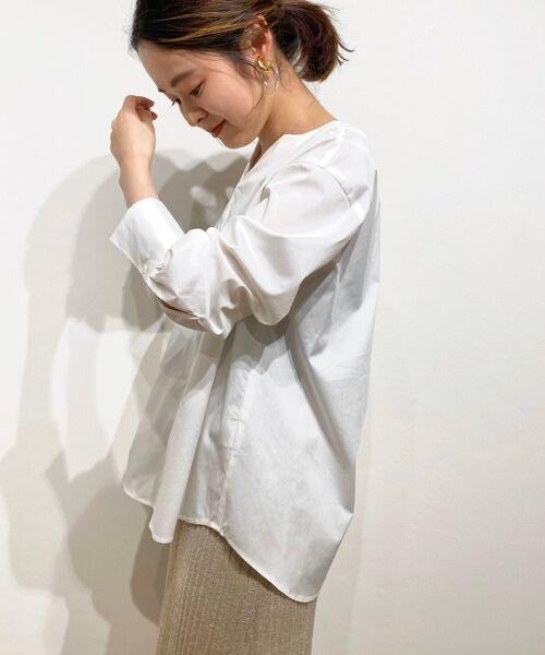 le.coeur blanc / ルクールブラン シャツ・ブラウス | タイプライターバックボタンシャツ | 詳細2