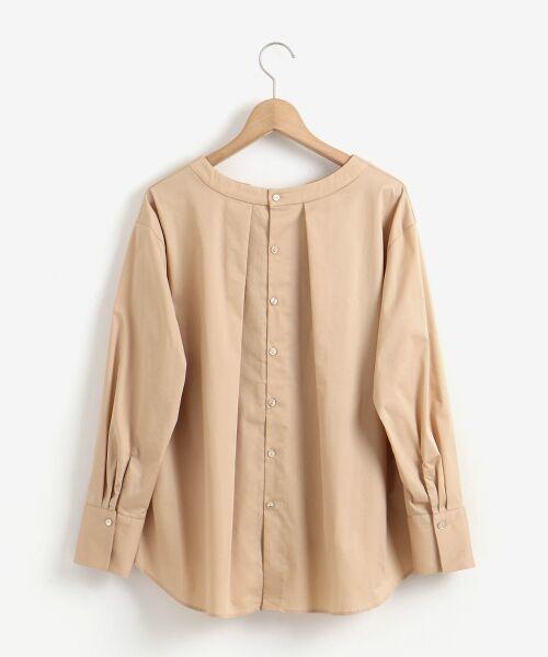 le.coeur blanc / ルクールブラン シャツ・ブラウス | タイプライターバックボタンシャツ | 詳細21