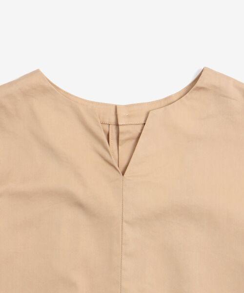 le.coeur blanc / ルクールブラン シャツ・ブラウス | タイプライターバックボタンシャツ | 詳細22